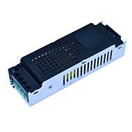 Jiawen dc 12v 10a reguleret strømforsyning adapter - sort + sølv (ac 100 ~ 240v)
