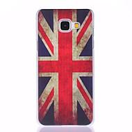 Union Jack geschilderd pc telefoon geval voor Galaxy A310 / a510 / a710 Galaxy een serie gevallen / covers