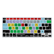 billige -xskn Ableton Live 9 snarveier tastatur hud silikon for MacBook Air 13, macbook pro retina 13/15/17, oss / eu layout