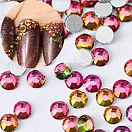 30PCS 4MM Color Intrigue Jewel Nail Art Decoration