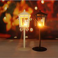 billige -Moderne / Nutidig Rustfrit Stål Lysestager 1pc, Candle / Candle Holder