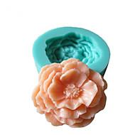 bageform Blomst Til Kage Til Cookies Til Tærte Silikone Miljøvenlig Høj kvalitet 3D