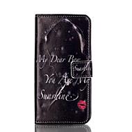 Для Samsung Galaxy S7 Edge Бумажник для карт / Кошелек / со стендом / Флип Кейс для Чехол Кейс для Соблазнительная девушкаИскусственная