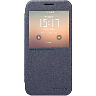 Mert Samsung Galaxy S7 Edge Betekintő ablakkal / Automatikus készenlét/ébresztés / Flip Case Teljes védelem Case Egyszínű Műbőr SamsungS7
