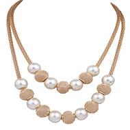 levne Šperky&Hodinky-Dámské Prohlášení Náhrdelníky / Y Náhrdelník - Kytky Prohlášení, Vintage, Módní Zlatá Náhrdelníky Šperky Pro Svatební, Párty, Večírek