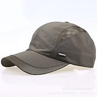 Czapka Męskie Wędkarstwo / Baseball / Sport i rekreacja / Golf Czerwony / Dark Gray / Light Gray / Czarny / Niebieski Tkanina / Nylon