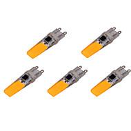 olcso LED betűzős izzók-ywxlight® g9 led kétpólusú lámpák 2 kagyló 500-700 lm meleg fehér hideg fehér dekoratív ac 220-240 v