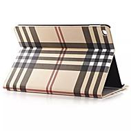 olcso iPad tokok-hq ultravékony luxus rács bőr tok iPad levegő 2 Smart Cover Apple iPad 2 levegő 9,7 hüvelykes táblagép