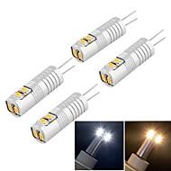 olcso LED betűzős izzók-g9 vezetett kukorica fények t 6 smd 3014 100lm meleg fehér hideg fehér 3000k / 6000k dekoratív dc 12 ac 12v