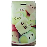 halpa Galaxy S5 Mini kotelot / kuoret-Varten Samsung Galaxy kotelo Korttikotelo / Lomapkko / Tuella / Flip / Kuvio Etui Kokonaan peittävä Etui Piirros Tekonahka SamsungS7 / S6