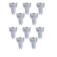 お買い得  LED スポットライト-10個 4 W 350 lm E14 / GU10 / E26 / E27 LEDスポットライト 4 LEDビーズ ハイパワーLED 装飾用 温白色 / クールホワイト 85-265 V / RoHs
