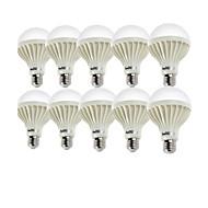 お買い得  LED ボール型電球-YouOKLight 7W 550-600 lm E26/E27 LEDボール型電球 A70 12 LEDの SMD 5630 装飾用 クールホワイト AC 220-240V