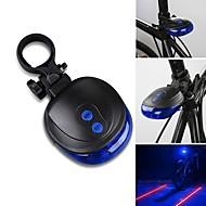 お買い得  フラッシュライト/ランタン/ライト-後部バイク光 / 安全ライト / テールランプ レーザー / LED - サイクリング 防水, LEDライト, レーザー 単四電池 1000 lm バッテリー サイクリング