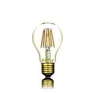 お買い得  LED ボール型電球-1個 4 W 2300 lm E26 / E27 フィラメントタイプLED電球 A60(A19) 4 LEDビーズ COB 装飾用 温白色 220-240 V / 1個 / RoHs