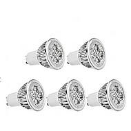 olcso Vásároljon többet, és spóroljon-4 W 350 lm GU10 LED szpotlámpák MR16 1 led Meleg fehér AC85-265