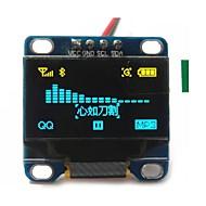 """お買い得  Arduino 用アクセサリー-0.96 """"インチ黄色と青のi2c IICシリアル128×64 OLED液晶OLEDは、arduinoのディスプレイ51 msp420 stim32のSCRのためのモジュールを導きました"""
