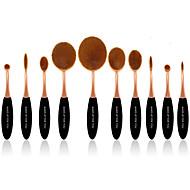 billige -10 Børstesett Syntetisk hår Professjonell Full Dekning Plast Ansikt Øye Lepe Make Up Til Deg
