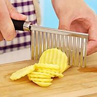 お買い得  キッチン用小物-キッチンツール ステンレス鋼 アイデアジュェリー カッター&スライサー 野菜のための 1個
