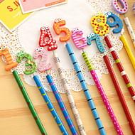 preiswerte Schreibwaren-Anzahl hölzernen Bleistift-Set (10 Stück)