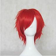 halpa -Synteettiset peruukit Kihara Tiheys Suojuksettomat Naisten Carnival Peruukki Halloween Peruukki Lyhyt Synteettiset hiukset
