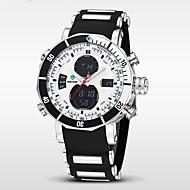 WEIDE Muškarci Ručni satovi s mehanizmom za navijanje digitalni sat Kvarc Šiljci za meso Japanski kvarc LCD Kalendar Kronograf