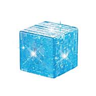 preiswerte Spielzeuge & Spiele-Bausteine Magische Würfel 3D - Puzzle Holzpuzzle Kristallpuzzle Heimwerken Krystall ABS Weihnachten Geschenk