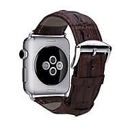 abordables 30% de DESCUENTO y Más-Ver Banda para Apple Watch Series 4/3/2/1 Apple Hebilla Clásica Cuero Auténtico Correa de Muñeca