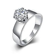 バンドリング ステートメントリング 指輪 ジルコン キュービックジルコニア ファッション ボヘミアスタイル 調整可能 愛らしいです タッセル ホワイト ジュエリー 結婚式 パーティー 日常 カジュアル スポーツ 1個