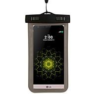 お買い得  携帯電話ケース-ケース 用途 ユニバーサル / LG K8 / LG G4 防水 ポーチ その他 ソフト PC のために LG G4スタイラス / LS770