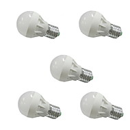 3W E26/E27 LED Globe Bulbs G45 6 SMD 5630 300-350lm Warm White Cold White 3000k/6500K AC 110-130 AC 220-240V