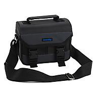 デジタルカメラ-バッグ用-ワンショルダー-防塵-ブラック