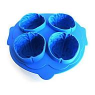 diy brain ice mold hoge kwaliteit keuken gadgets gebruik dagelijks (1 st en willekeurige kleur)