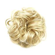 Недорогие Парики-Шиньоны Парики из искусственных волос Кудрявый Классика Updo Высокое качество Стрижка каскад Машинное плетение Жен. Парики для косплей