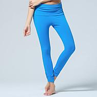 お買い得  -CONNY 女性用 スポーツ エラステイン パンツ ボトムズ ズンバ ヨガ ピラティス アクティブウェア 高通気性 滑らか 伸縮性あり