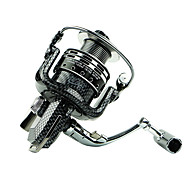 abordables Carretes de Pesca-Carrete de la pesca Carretes para pesca spinning 5.5 Relación de transmisión+6 Rodamientos de bolas Orientación de las manos