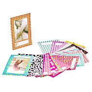 120 hojas bordes de colores pegatina de la foto pegatina para el mini películas Fujifilm Instax 8 7s 25 50 90