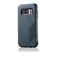 Для Samsung Galaxy S7 Edge Защита от удара / Рельефный Кейс для Задняя крышка Кейс для Армированный Твердый Силикон SamsungS7 edge / S7 /