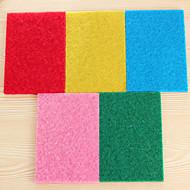 (color al azar) 10 PC / sistema de color de alta eficiencia trapos de cocina para fregar la limpieza tela fuerte de descontaminación