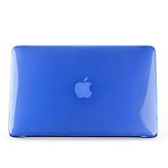 お買い得  MacBook 用ケース/バッグ/スリーブ-MacBook ケース 純色 / クリア プラスチック のために MacBook Air 13インチ / MacBook Air 11インチ
