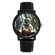 Недорогие Фирменные часы-SOXY Муж. Наручные часы Горячая распродажа / Cool / / Кожа Группа На каждый день / Нарядные часы Черный / Коричневый