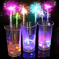 1szt kolorowy kreatywnych pub KTV led lampka nocna lampka led Drinkware