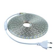 6W フレキシブルLEDライトストリップ 20 lm 交流220から240 V 5 m 300 LEDの ウォームホワイト ホワイト レッド ブルー グリーン