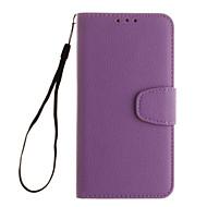 halpa Galaxy S5 Mini kotelot / kuoret-Varten Samsung Galaxy kotelo Korttikotelo / Lomapkko / Tuella / Flip Etui Kokonaan peittävä Etui Yksivärinen Pehmeä Tekonahka SamsungS5
