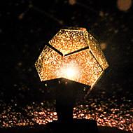 abordables Lámparas LED Novedosas-estrella celestial astro cielo proyección cosmos luces nocturnas proyector lámpara de noche estrellado decoración del dormitorio romántico accesorio de iluminación