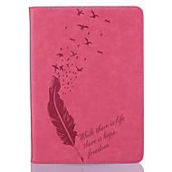 Full Body Wallet / Korttipaikka / Other Sulat Tekonahka Pehmeä Embossed leather Tapauksessa kattaa Apple iPad Air