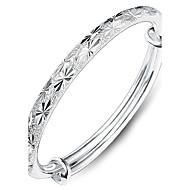 preiswerte Schmuck & Armbanduhren-Damen Armreife - Sterling Silber Herz, Liebe Modisch Armbänder Silber Für