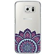 Для Samsung Galaxy S7 Edge Чехлы панели Прозрачный С узором Задняя крышка Кейс для Мандала Мягкий TPU для SamsungS7 edge S7 S6 edge plus