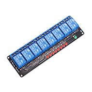 billige Arduino-tilbehør-8 kanals 5V relæmodul til Arduino