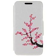 Для Кейс для Huawei / P9 / P9 Lite Бумажник для карт / со стендом Кейс для Чехол Кейс для Цветы Твердый Искусственная кожа HuaweiHuawei
