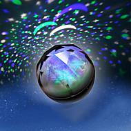 色が変化する星の美し星空プロジェクターの夜の光